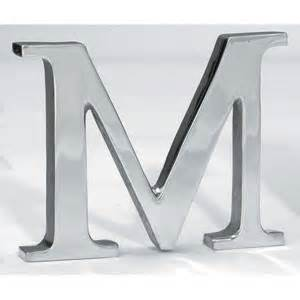 silver letters home decor outdoor