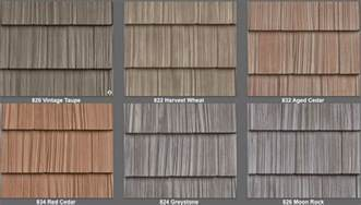 Vinyl Siding That Looks Like Cedar Planks Vinyl Siding 7 Quot Staggered Shake Like Real Cedar 34 Colors