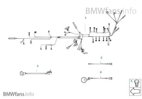 engine wiring harness bmw 3 e30 318i m10 europe