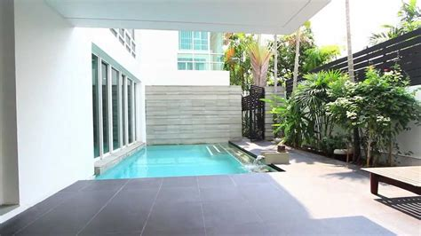 Tiny House Floorplans by Stand Out House In Bangkok In Modern Minimalist Design Youtube