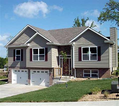 split level garage attractive split level home plan 75005dd 1st floor