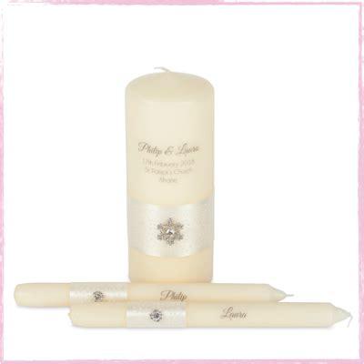Handmade Candles Ireland - wedding candles personalised unity set ireland uk