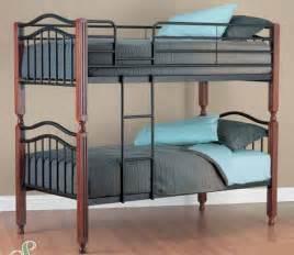 Timber Bunk Beds Metal And Timber Bunk Bed Single Furnish