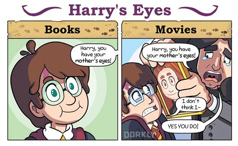 film with cartoon books 6 ways the harry potter movies are different from the
