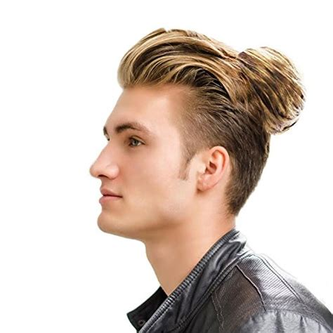 11 manly man bun top knot hairstyle combinations image gallery man bun