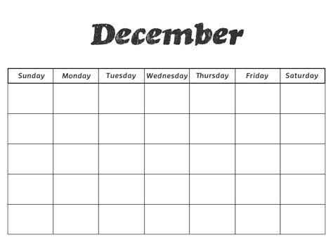 printable december calendar for kindergarten printable preschool calendars