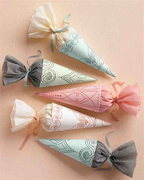 wedding shower favor ideas martha stewart 50 great wedding favors martha stewart weddings