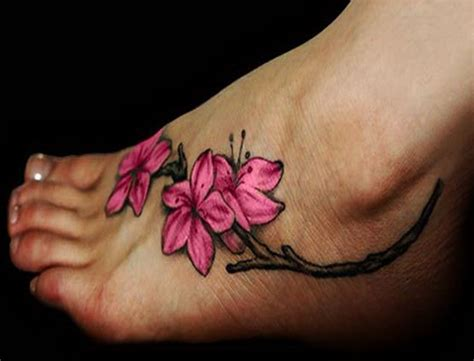 cool flower tattoos cool design ideas flower ankle tattoos for