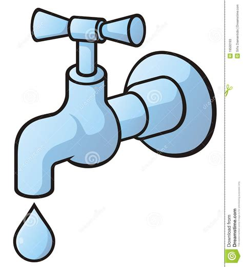 attractive No Water In Kitchen Faucet #4: tap-dripping-19500193.jpg