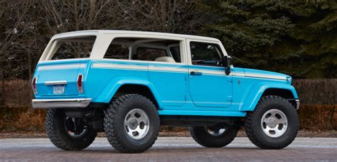 jeep wrangler 1970 the 1970 s jeep chief is back as this badass wrangler