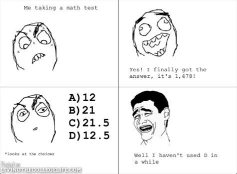 Math Test Meme - math exam sunday funday college meme compilation story