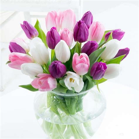 Mothers Day Flowers by S Day Tulips Flyingflowers Co Uk