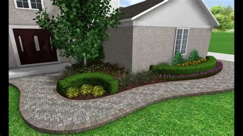 how lay front sidewalk landscaping ideas bistrodre porch and landscape ideas