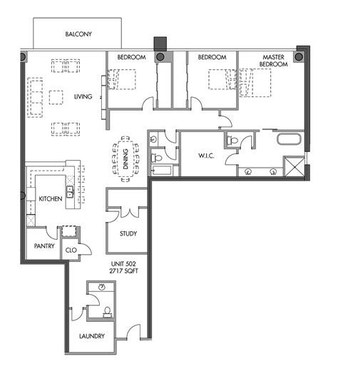 floor plans for units eleven eleven luxury condominiums level 5 units