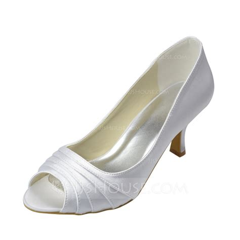 jj house shoes women s satin low heel peep toe sandals 047062062 wedding shoes jjshouse