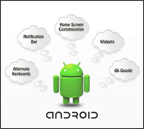 android features features of android os cdn mobile solutions