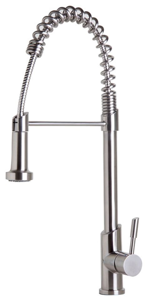 spring kitchen faucet commercial spring kitchen faucet with pull down shower