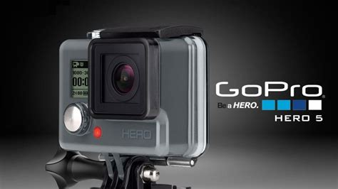 Gopro Alpha 5 gopro 5 display touchscreen e resistenza all acqua senza cover