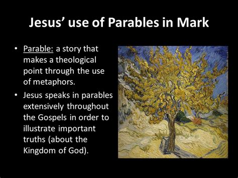 themes of the kingdom of god the gospel according to mark ppt video online download