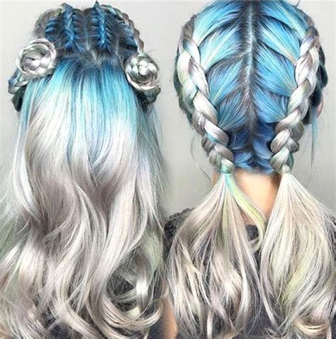 colorful hairstyles 25 best ideas about colored hair styles on