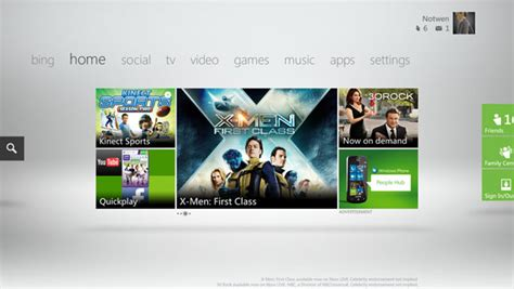 xbox 360 dashboard the new xbox dashboard arrives tomorrow let s look at