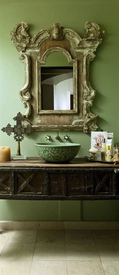 antique mirrors for bathrooms vessel sinks are the hot trend in bathroom design
