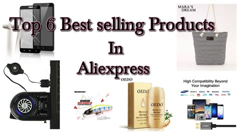top 6 best selling products in aliexpress 2017 all
