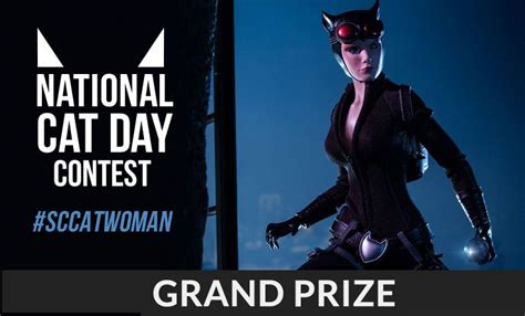 Popgadget Prize Contest Updates by Sideshow National Cat Day Contest Me Wow Sideshow