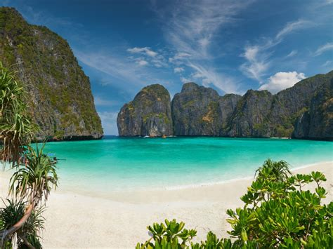 phi phi island village beach resort thailand  blue