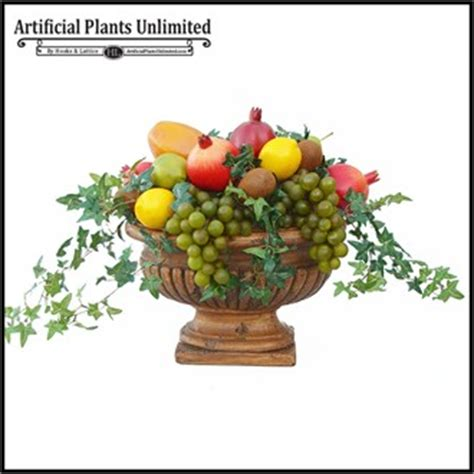 mixed fruit centerpiece