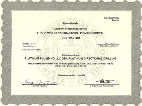Plumbing Contractor License by Plumbing Contractor License Hawaii Plumbing Contractor
