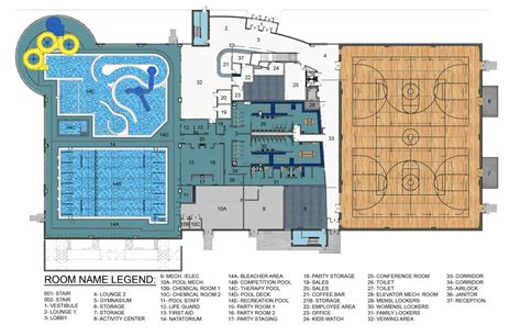 facility floor plan hub rec center opening delayed wjpf news radio