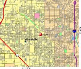 glendale arizona zip code map zip codes glendale arizona map