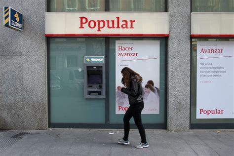 banco popular dividendo el banco elimina el dividendo durante este ejercicio