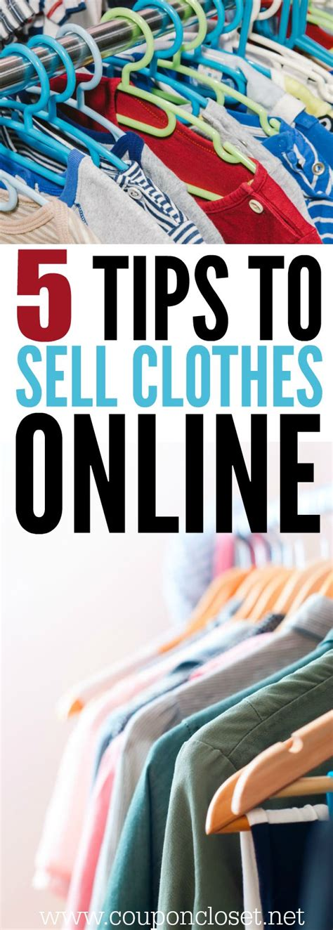 How To Make Money Selling Clothes Online - how to sell clothes online 5 easy tips coupon closet