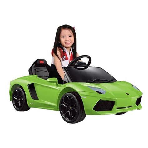Kid Lamborghini Equipment Lamborghini Aventador 6v Electric Ride