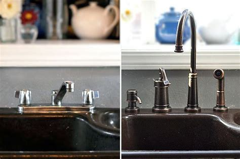 Changing Kitchen Faucet by How To Remove And Replace A Kitchen Faucet Kitchen