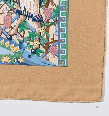 Twilly Scarf Satin Silk Beigebaby Pink 0255f8r hermes silk twill scarf quot axis mundi quot designed by christine henry 03 28 14 sold 287 5