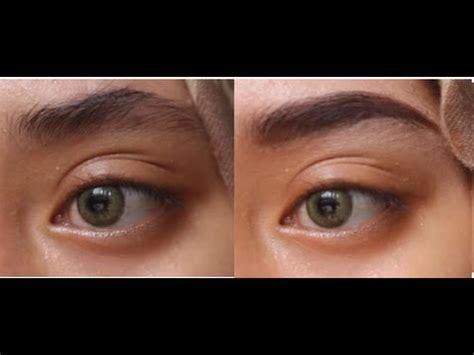 cara bikin alis tanpa cukur eyebrow tutorial without trimming tutorial alis tanpa