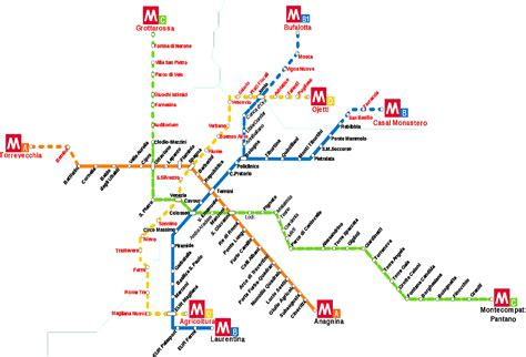 porta romana metro metropolitana di roma orari fermate mappa