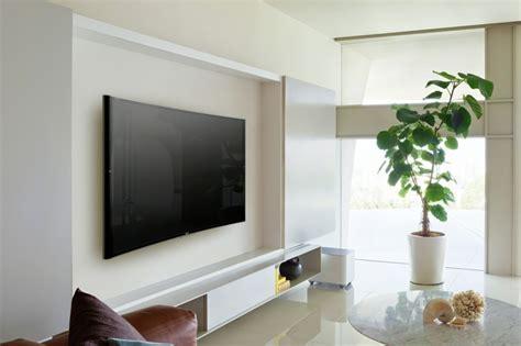 home design reality tv shows fernsehwand ideen f 252 r einen tollen blickfang in wohn schlafzimmer