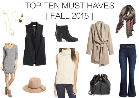 count them 10 fall must haves 2015 glamourita