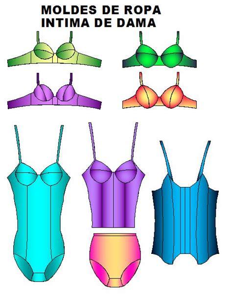 patrones de ropa interior para dama moldes ropa intima dama panties y brasier software