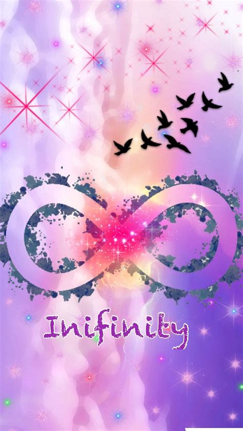girly me wallpaper cute girly infinity galaxy wallpapers by me