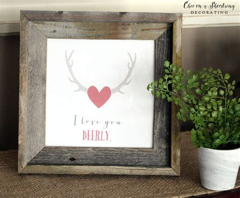s day decor chic on a shoestring decorating farmhouse s day