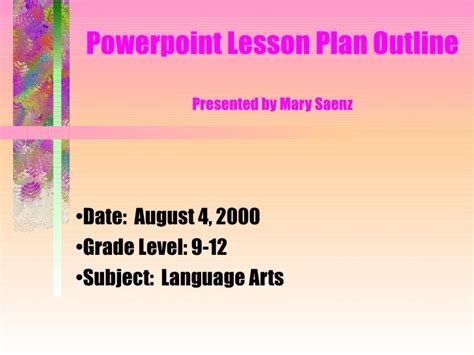 powerpoint design lessons powerpoint assignment exle