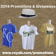 Royals Giveaway Schedule - at the ballpark giveaways promos on pinterest royals ticket and girls night out