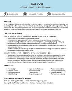cosmetology educator resume sle cosmetology instructor resume sle http www resumecareer info cosmetology instructor