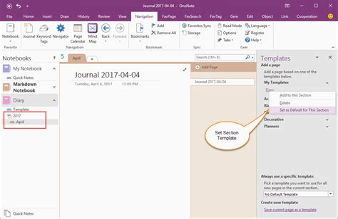 onenote templates how to create and using date fields in an onenote template
