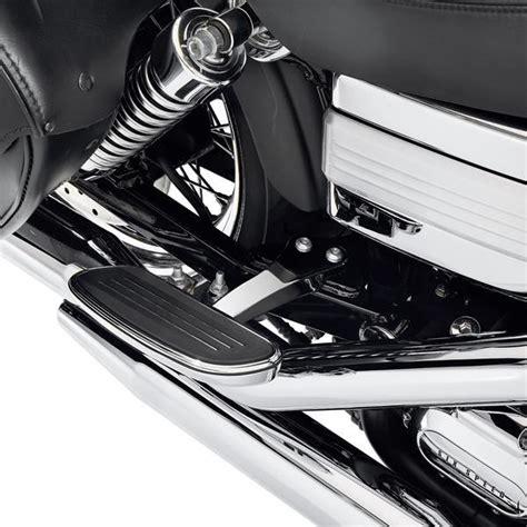 pedane passeggero moto kit supporti pedane passeggero cromate orig hd per dyna
